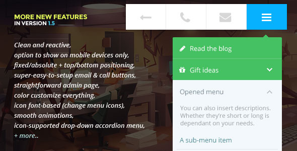 Touchy-A WordPress mobile menu plugin