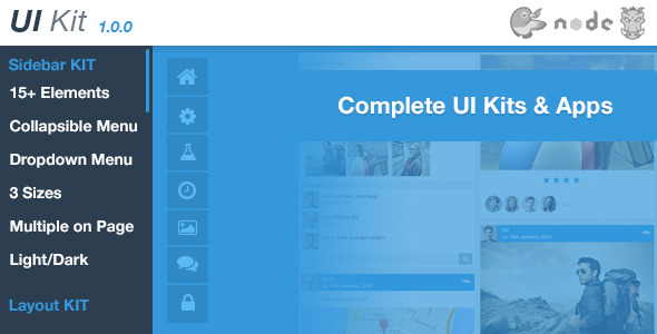 UI Kit - Admin User Interface Kits & Apps