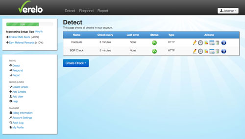 Verelo-Blog-Monitoring-Plugin