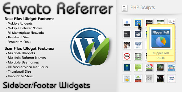 WP Envato Referrer