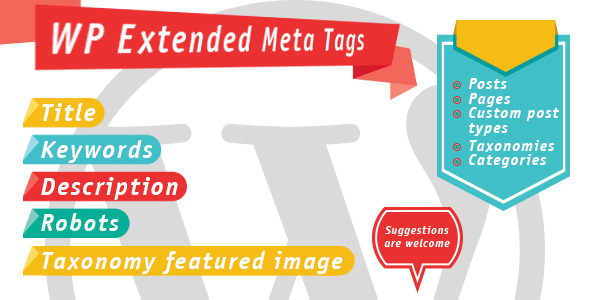 WP Extended Meta Tags