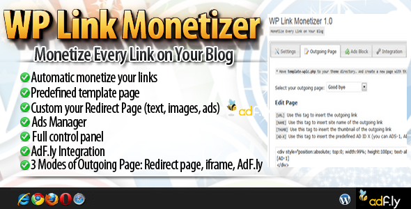WPLM - WordPress Link Monetizer