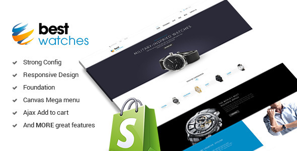 Watches - Responsive Shopify Template