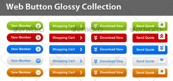 Web-Button-Glossy-Collection