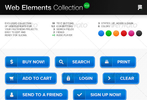 Web-Elements-Collection