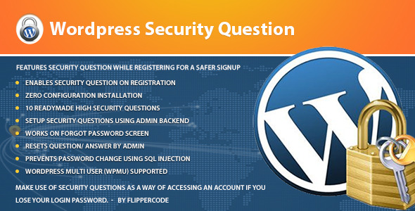 Wordpress Security Questions