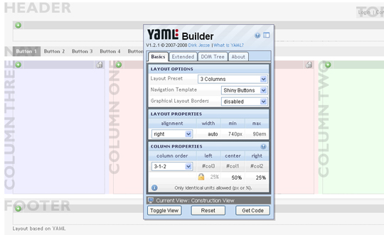 YAML Builder-css-generators