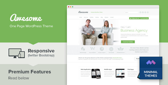 awesome-one-page-wordpress-theme