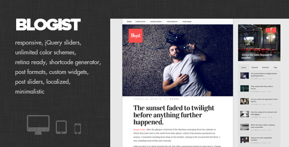 blogist-personal-blog-theme