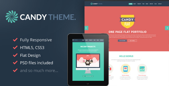 candy-onepage-flat-responsive-wordpress-theme