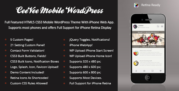 ceevee-mobile-retina-wordpress-version