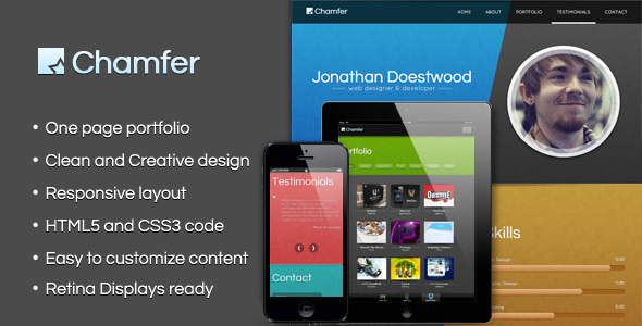 chamfer-one-page-responsive-theme
