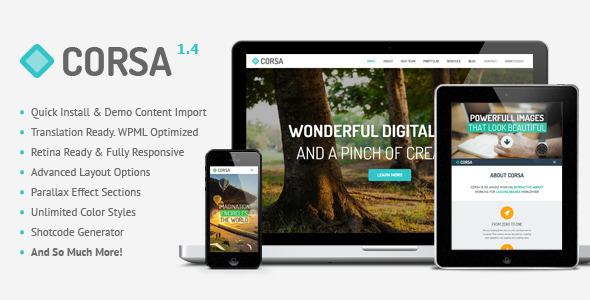 corsa-retina-responsive-creative-onepage-theme