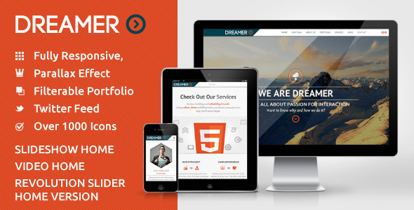 dreamer-photo-video-parallax-wordpress-theme