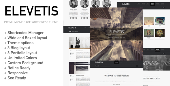 elevetis-premium-one-page-wordpress-theme