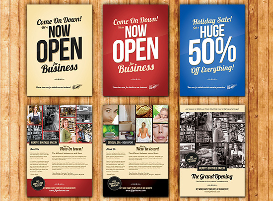 Promotional templates for flyers mersnoforum promotional templates for flyers flashek Images