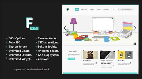 frozr-a-multipurpose-wordpress-theme
