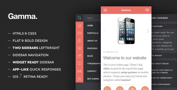 gamma-mobile-retina-html5-and-css3-wordpress