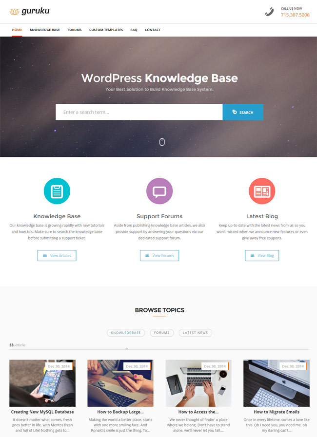 guru-responsive-knowledge-base-wordpress-theme