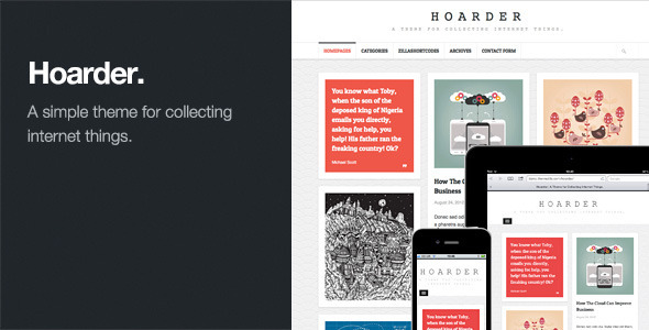 hoarder-responsive-wordpress-blog-theme