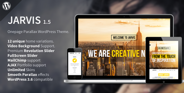 jarvis-onepage-parallax-wordpress-theme