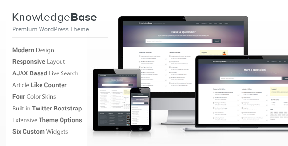 15 professional knowledge base and wiki wordpress themes for Knowledge base document template
