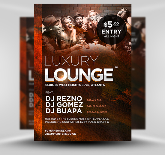 luxury-lounge-flyer-template