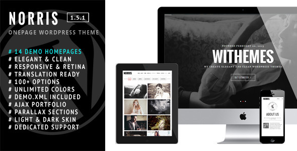 norris-elegant-onepage-wordpress-theme