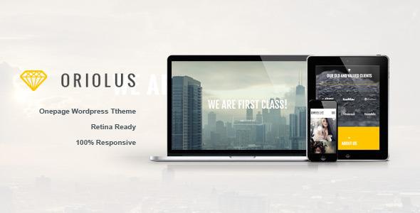 oriolus-responsive-onepage-wordpress-theme