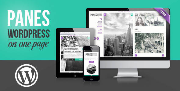 panes-wordpress-on-one-page