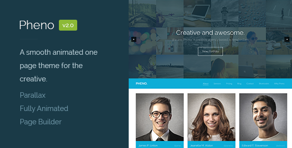 pheno-one-page-parallax-wordpress-theme