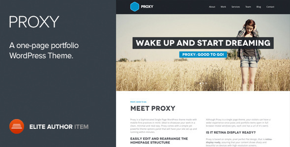 proxy-one-page-responsive-wordpress-theme