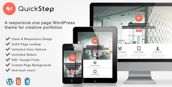 quickstep-responsive-one-page-portfolio-theme