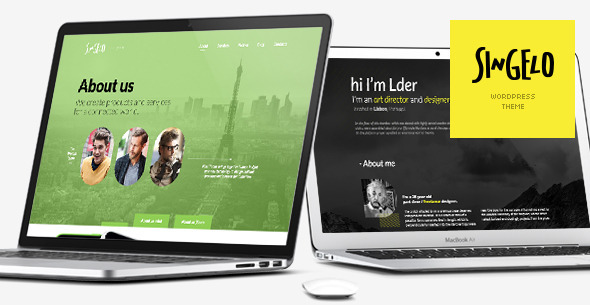 singelo-one-page-wordpress-theme