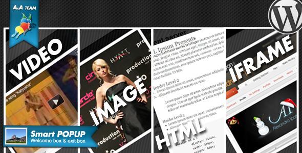 smartPop-Up BOX - WordPress Plugin