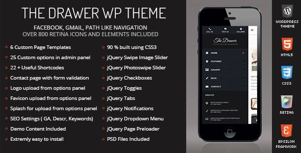 the-drawer-mobile-retina-wordpress-version