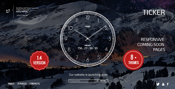 ticker-responsive-countdown-clock-landing-page