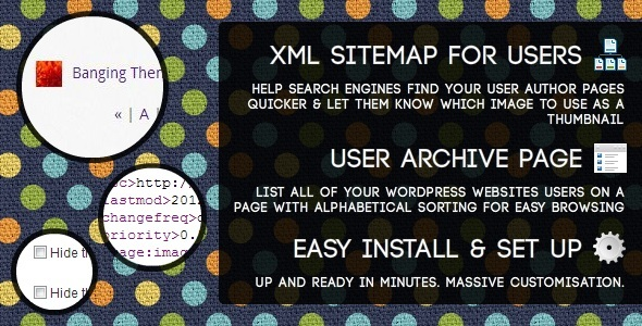 users-sitemap-archive-wordpress-plugin