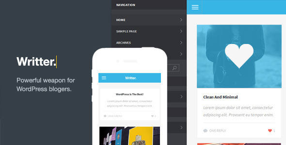 writter-a-modern-grid-based-mobile-theme