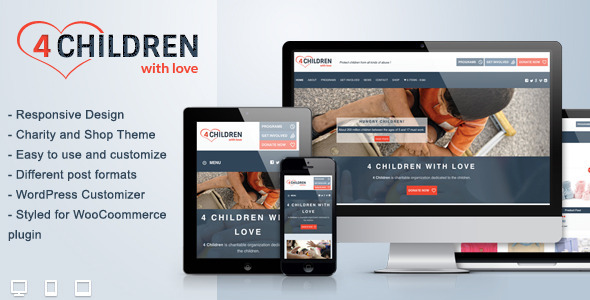 4-children-with-lovecharity-wp-theme