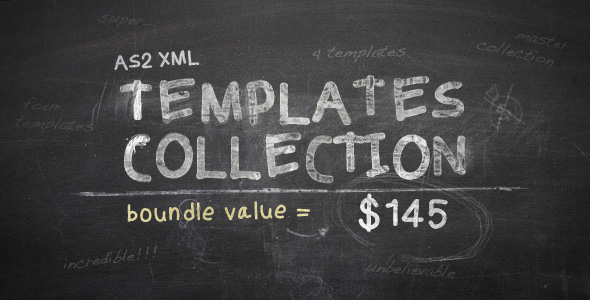 AS2 XML Templates Collection