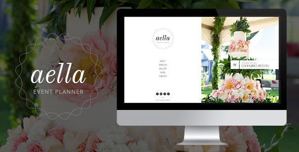 Aella - PSD Template for Event Planners