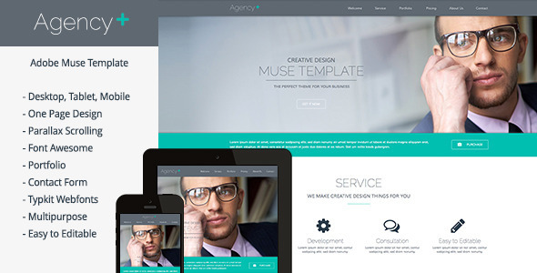 Agency Plus - Multi-Purpose Muse Template