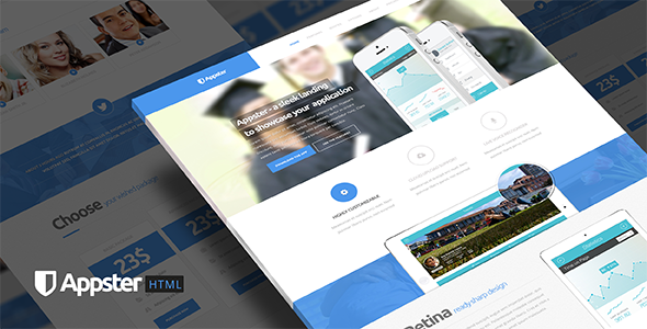Appster - Ultimate App Landing Page Html5 Template
