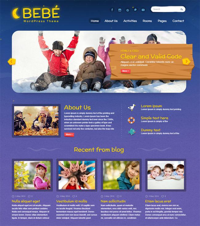 BeBe-Responsive-WordPress-Theme