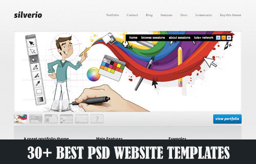 Best-PSD-Website-Templates