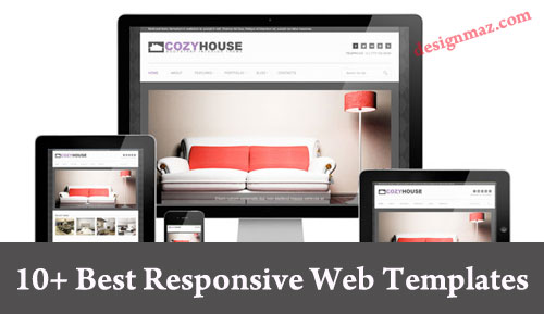 10 best responsive website templates for 2014 designmaz for Free responsive website templates