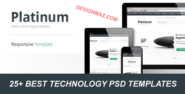 Best-Technology-PSD-Templates
