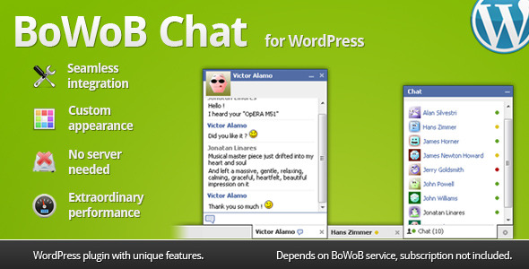 BoWoB Chat for WordPress