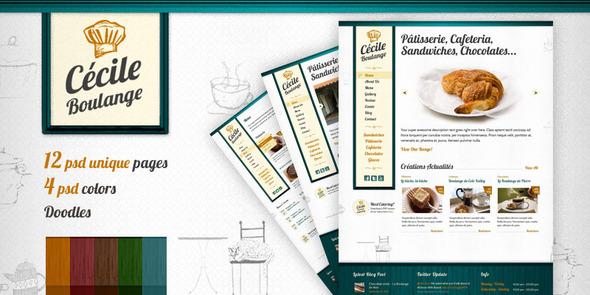 Cecile Boulange PSD - Bakery-Restaurant, Cafe